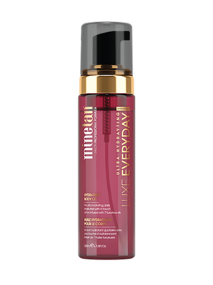 Minetan Luxe oil everyday gradual tan – after sun