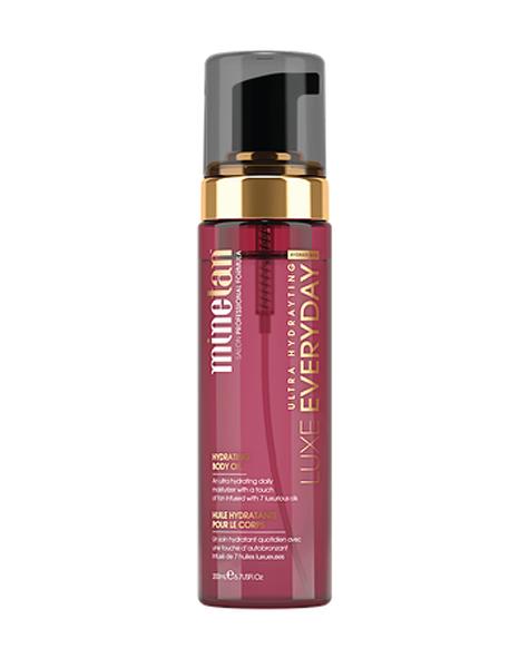 Minetan Luxe oil everyday gradual tan – after sun