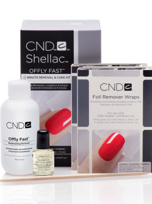 Offly fast remover kit Shellac