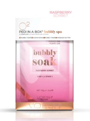 VOESH Pedi In a Box Bubbly Soak - Raspberry Sorbet