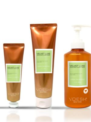 VOESH Velvet Luxe - Green Tea Supple
