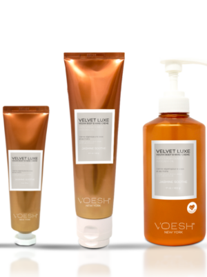VOESH Velvet Luxe Vegan Body & Hand Creme - Jasmine Soothe