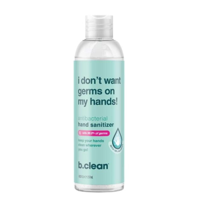 b.clean I Don't Want Germs on my Hands Håndsprit 236 ml