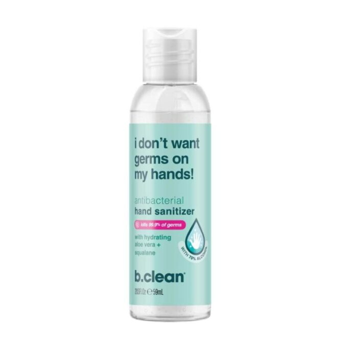 b.clean I Don't Want Germs on my Hands Håndsprit 59 ml
