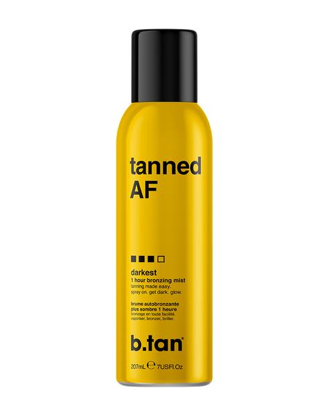 b.tan Tanned AF Bronzing Mist